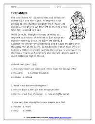 printable reading comprehension test comprehension reading worksheets worksheets for all download and