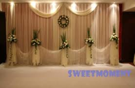 Wedding Backdrop Curtains For Sale Aliexpress Com Buy 3x6m Premium Wedding Backdrop For Wedding