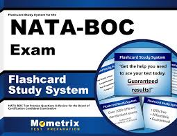 flashcard study system for the nata boc exam nata boc test