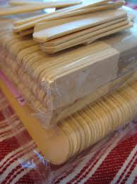 where to buy lollipop sticks leaf and letter handmade no budget christmas decor popsicle sticks