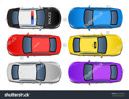 vehicle top view cars top view above view stock illustration 183706082 shutterstock