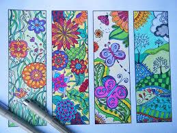 110 mandala bookmarks images coloring books
