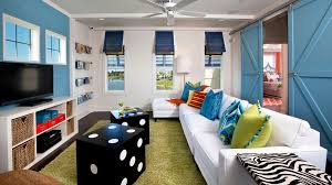 Rowe Furniture In Family Room Beach Style With Interior Shutters - Tommy bahama style furniture