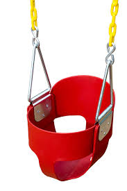 swing sets black friday deals high back full bucket toddler swing seat with plastic coated