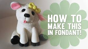 Decorating Easter Lamb Cake by How To Make A Cute Little Lamb Cake Decorating Tutorial Youtube