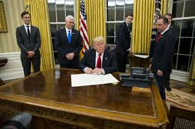 trump u0027s first executive order aims to repeal obamacare toronto star