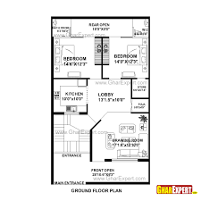How Big Is 15000 Square Feet House Plan For 30 Feet By 51 Feet Plot Plot Size 170 Square Yards