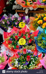 flowers for sale bunches bouquets of colorful colourful flowers on sale jalan