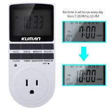 Comforday Digital Timer 7 Day by Woods Coleman Cable 50007 Digital How To Wire In Series How