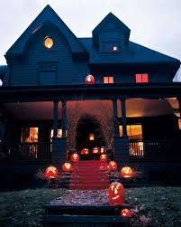 Decorating The House For Halloween Outdoor Halloween Decorations Martha Stewart
