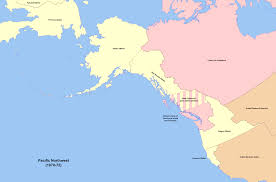 State Of Alaska Map by Russian America Map America Map