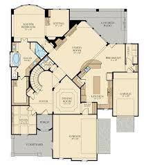 Floor Plan Spiral Staircase Tillman Village Builders