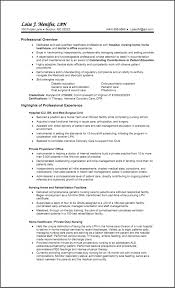 lpn resume exles sle lpn resume two pages 1 sle nursing resumes