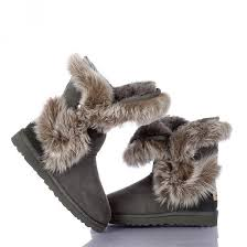 womens ugg boots uk sale fox fur boots 5531