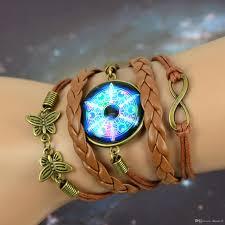 online get cheap amethyst butterfly online cheap diy bracelets handmade woven butterfly magic moments