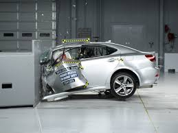 lexus is 2012 lexus is 250 350 driver side small overlap iihs crash test