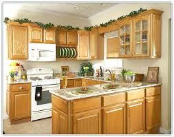 Oak Kitchen Cabinets And Wall Color Brilliant Honey Oak Kitchen Cabinets Wall Color Faced In