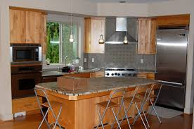 Stain Kitchen Cabinets Darker Decorative Restaining Kitchen Cabinets All Home Decorations