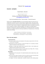 operations executive cover letter compare and contract essay tube