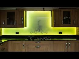 all things led kitchen backsplash led swirls glass splashback youtube