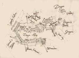 Harry Potter Map Any Detailed Maps Of Diagon Alley Harrypotter