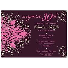 30th birthday invitation badbrya com