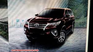 new toyota 2016 new 2016 toyota fortuner suv this is it