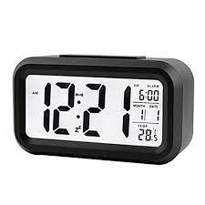 best light up alarm clock buy louis will 5 3 alarm clock soft light wake up travel clock