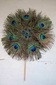 peacock feather fan antique peacock feather fan the savoy flea