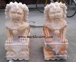 marble foo dogs marble statue marble sculpture foo dog fu dog buddha statues