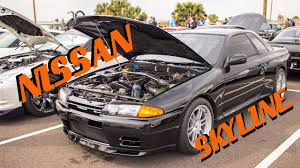 nissan skyline allowed in us cars u0026 coffee nissan skyline gt r r32 baja beach biloxi youtube