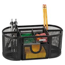 Wire Mesh Desk Accessories by Mesh Pencil Cup Organizer By Rolodex Rol1746466 Ontimesupplies Com