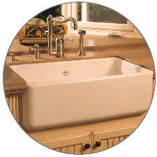 Rohl Undefined Black Shaws  Single Basin Farmhouse Fireclay - Shaw farmhouse kitchen sink