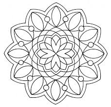 simple design mandala coloring pages batch coloring