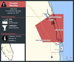Ormond Beach Florida Map by Tornado Warning Including Jupiter Fl Palm Beach Gardens Fl Juno
