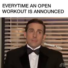 Crossfit Open Meme - thursday crossfit wilson