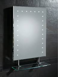 bathroom storage mirrored bathroom cabinet with led lights
