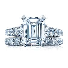 Tacori Wedding Rings by Tacori Engagement Rings Royalt Solitaire Emerald Cut