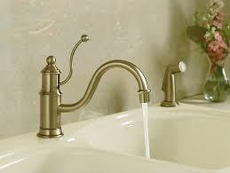 antique kitchen sink faucets k 169 antique single handle kitchen sink faucet kohler