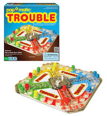 amazon com classic trouble board game game toys u0026 games