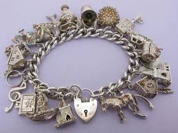 solid silver charm bracelet images 213 best england uk english vintage charms bracelets images jpg