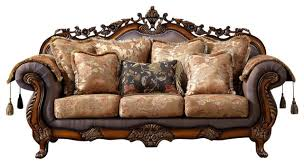 Traditional Sofa Seville Sofa Traditional Sofas By Meridian Furniture