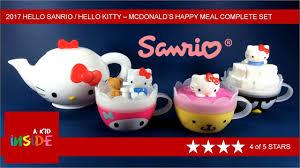 2017 sanrio kitty mcdonald u0027s happy meal complete