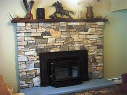stone facade fireplace u2014 jburgh homes best stone veneer