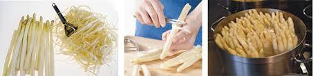 comment cuisiner des asperges blanches conserver préparer cuire vos asperges les reines des asperges