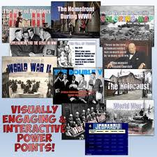 world war 2 complete unit plan bundle by students of history tpt