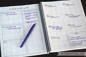 printable planner pages for 2015 my 3 monsters 2015 planner printables