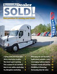 sold used truck guide volvo kenworth models earn top retail
