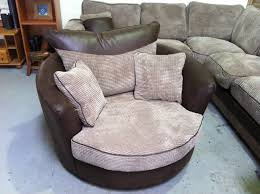 Swivel Club Chairs For Living Room by Round Couch Chair Furniture Round Cuddle Chairs And Oversized