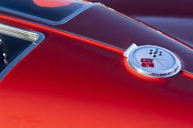 1963 corvette emblem 1963 chevrolet corvette split window photograph by reger